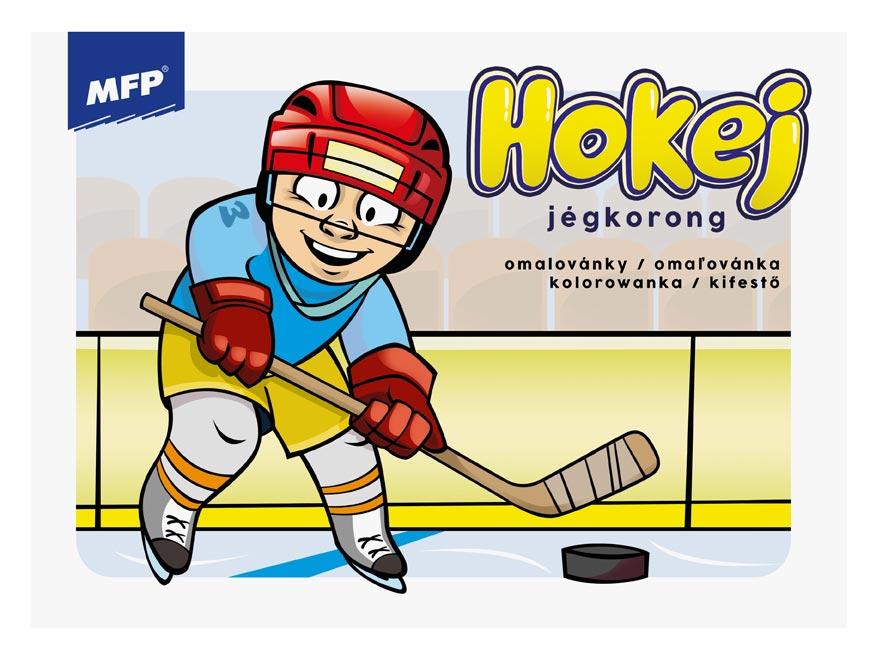 omalovánky Hokej 5301042