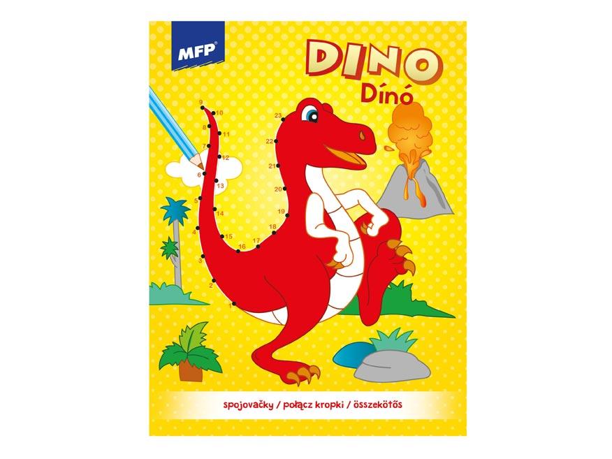 omaľovánky - spojovačky Dino 210x275mm/32s 5301084