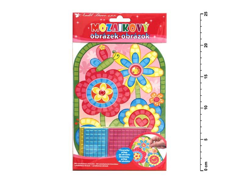 Mozaika 10159 kvety 25x14cm