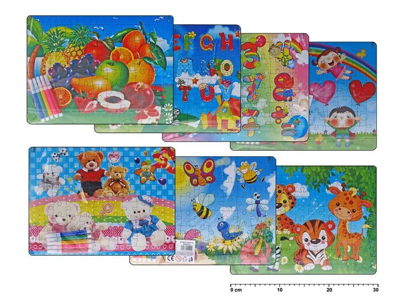 Puzzle 886343 28x21cm