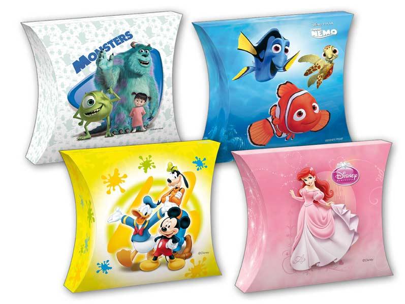 Krabička darčeková M sr Disney 23,5x28,5x13cm (6,5l) (Mickey, Nemo, Ariel, Monsters)