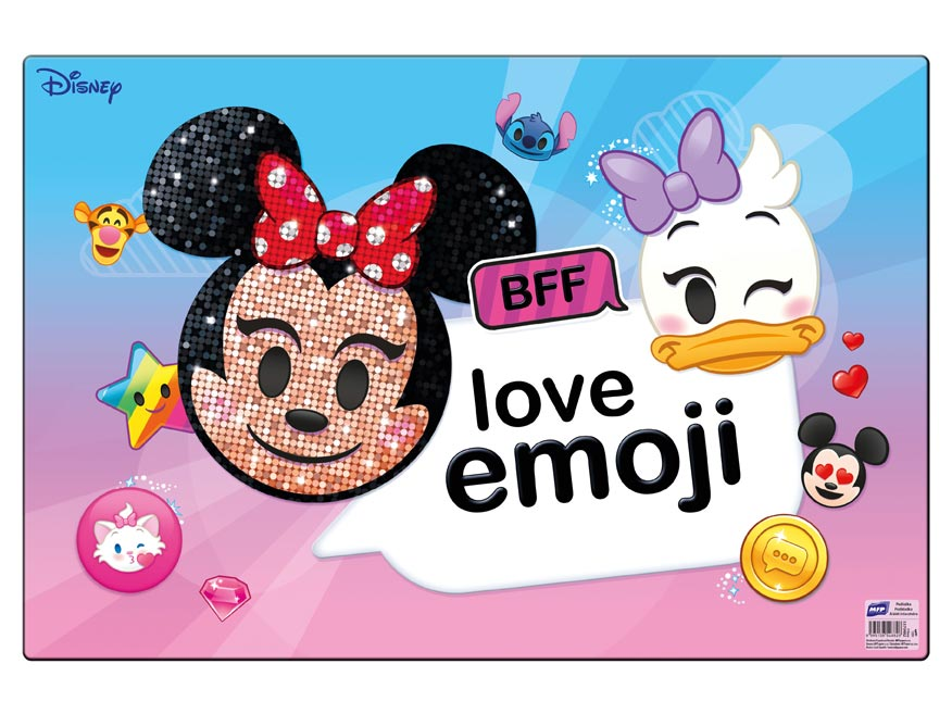 Podložka na stôl MFP 60 x 40cm Disney (Emoji)