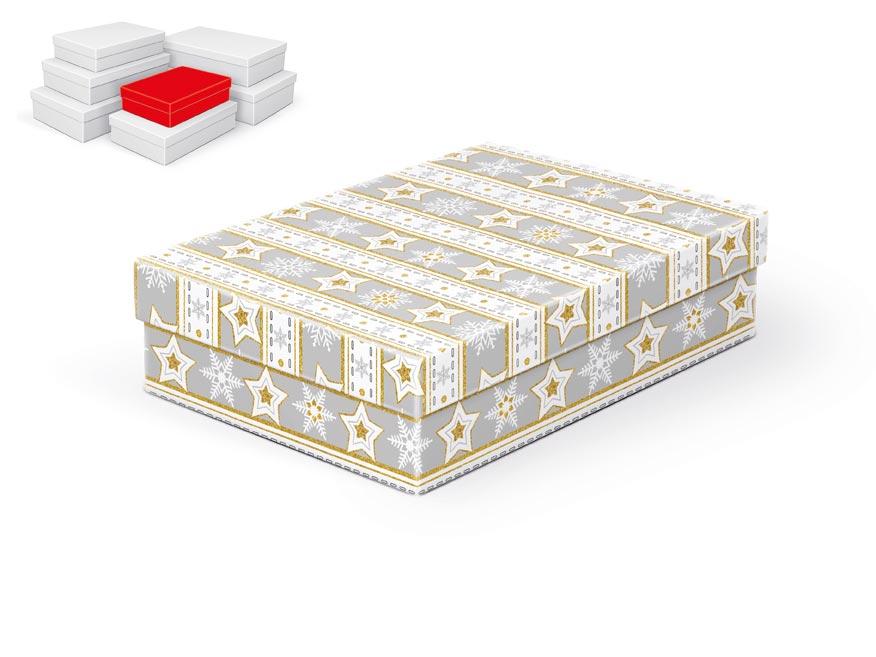 krabička darčeková vianočná  A-V003-A 24x16x6cm 5370709