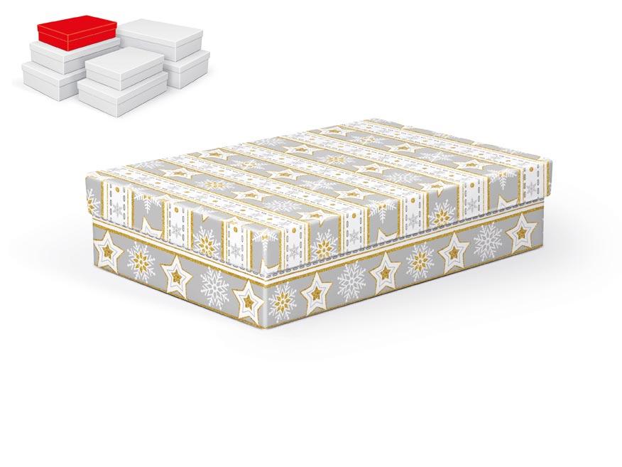 krabička darčeková vianočná  A-V003-B 26x17x6cm 5370710