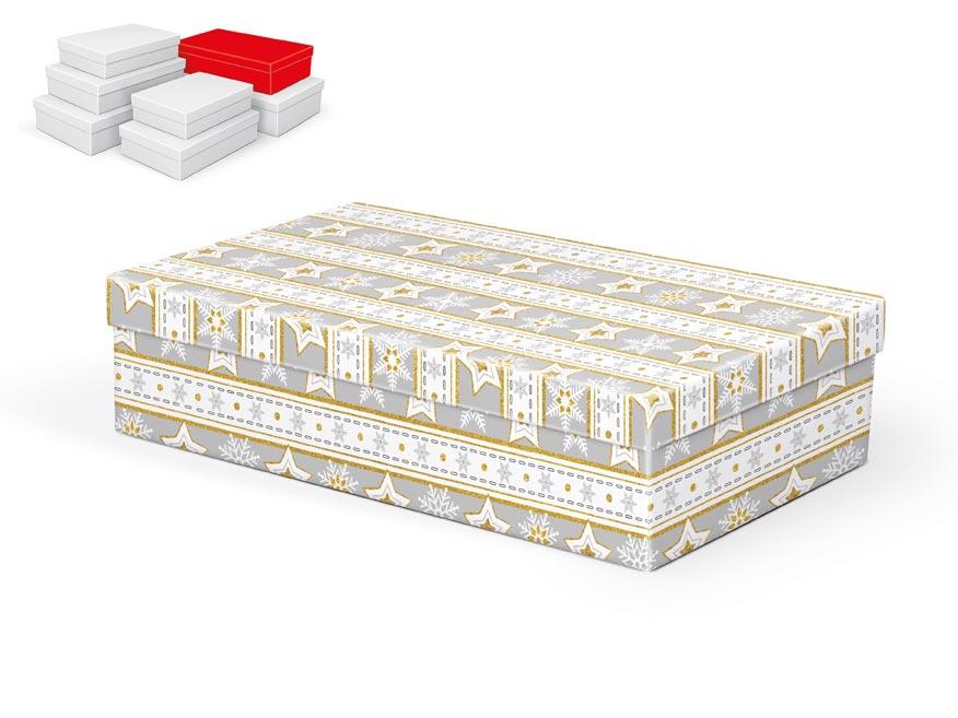 krabička darčeková vianočná  A-V003-E 32x20x8cm 5370713