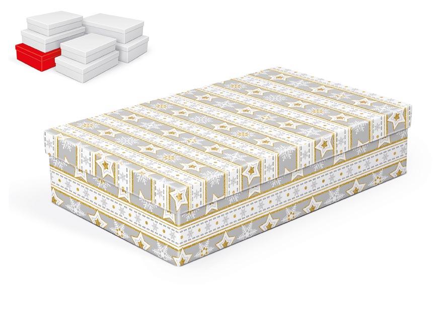 krabička darčeková vianočná  A-V003-F 34x22x8cm 5370714