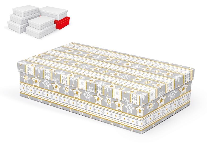 krabička darčeková vianočná  A-V003-G 36x22x9cm 5370715