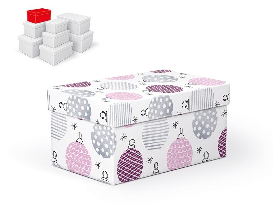 krabička darčeková vianočná  B-V003-B 18x11x9cm 5370717