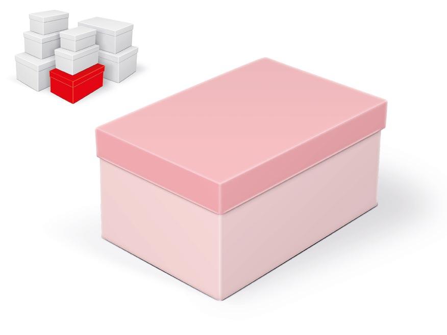krabička darčeková B-C002-E 24x16x12cm 5370782
