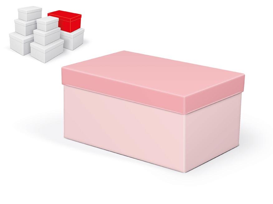 krabička darčeková B-C002-F 26x17x13cm 5370783