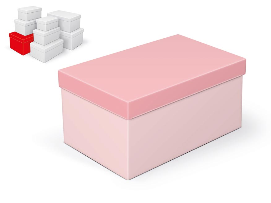 krabička darčeková B-C002-G 28x18x14cm 5370784