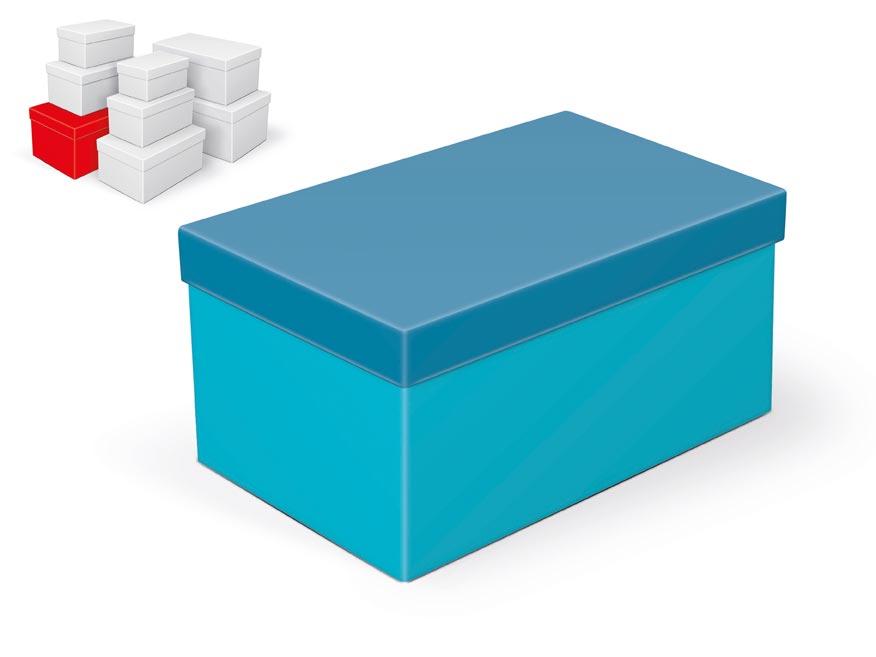 krabička darčeková B-C003-G 28x18x14cm 5370800