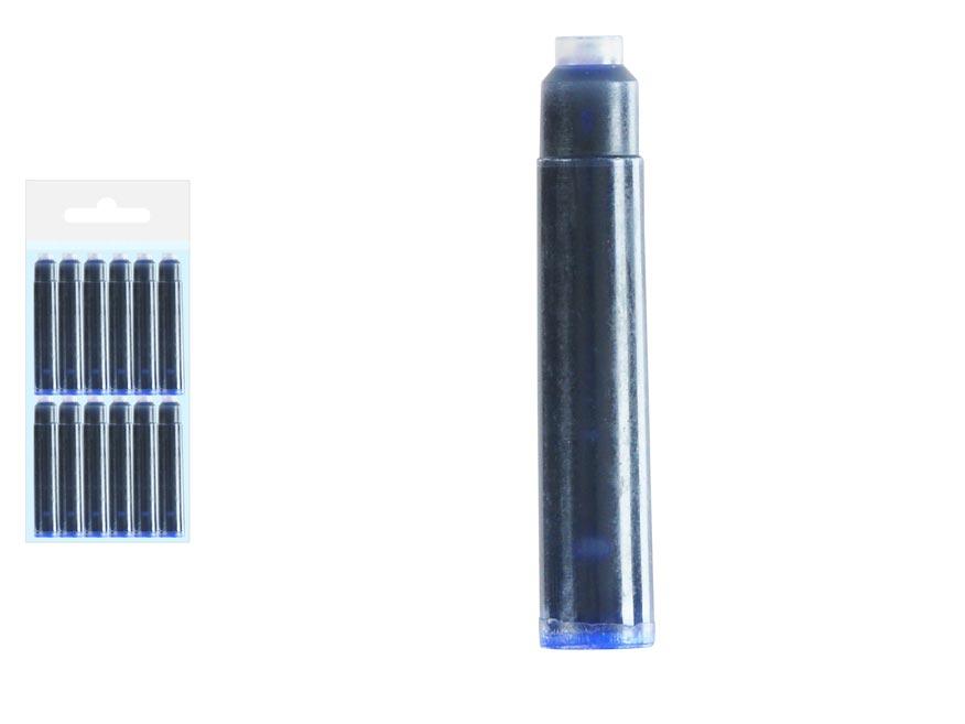 atramentové zásobníky modré 12ks v sáčku 5400197