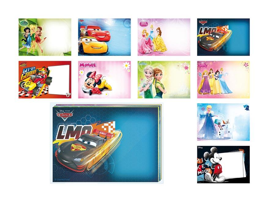 Listová obálka MFP C6 Disney (mix)