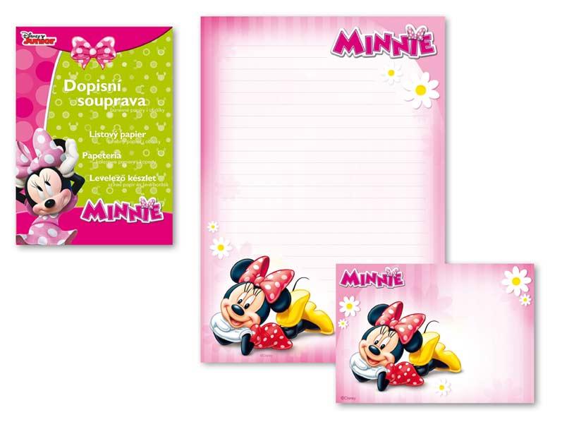 Listový papier farebný LUX 5+10 Disney (Minnie)