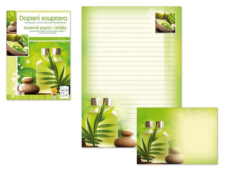 Listový papier farebný LUX 5+10 (Zen)