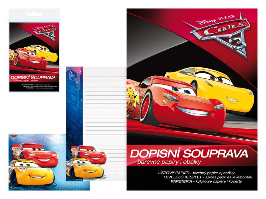 listový papier farebný LUX 5+10 Disney (Cars) 5550269