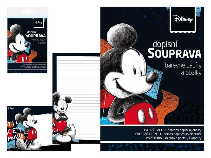 Listový papier farebný LUX 5+10 Disney (Mickey)