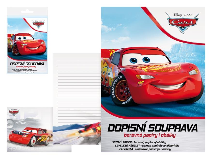 listový papier farebný LUX 5+10 Disney (Cars) 5550280