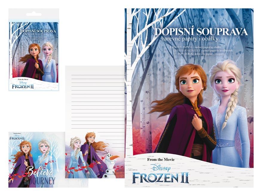 listový papier farebný LUX 5+10 Disney (Frozen) 5550281