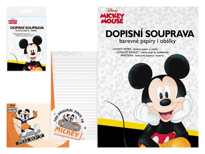 listový papier farebný LUX 5+10 Disney (Mickey) 5550282
