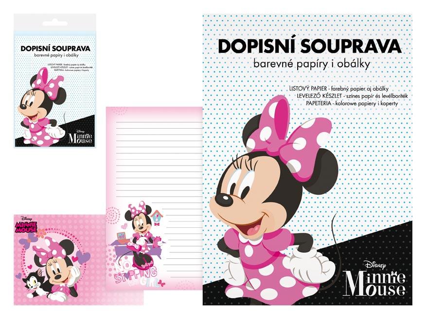 listový papier farebný LUX 5+10 Disney (Minnie) 5550283