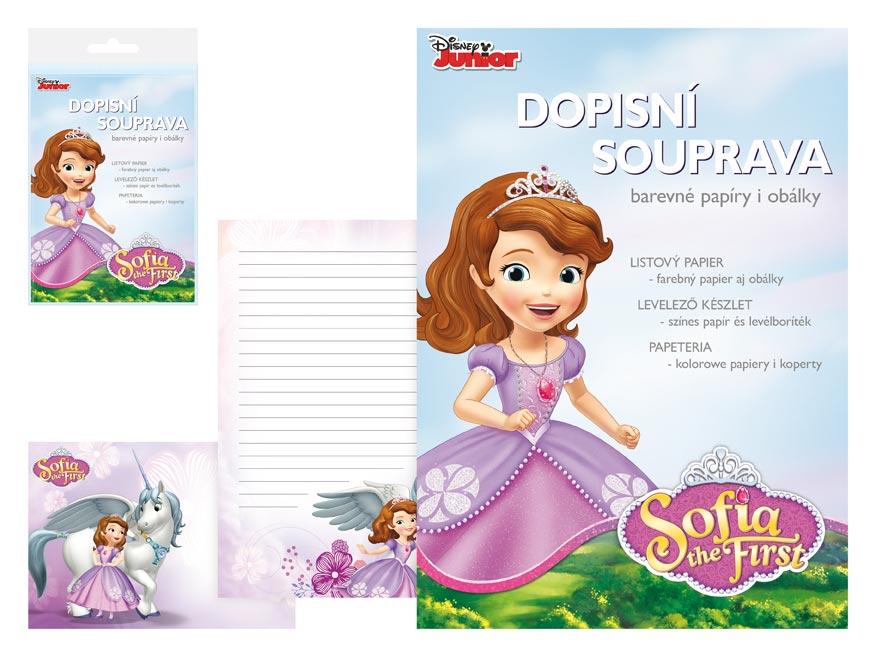 listový papier farebný LUX 5+10 Disney (Sofia the First) 5550284