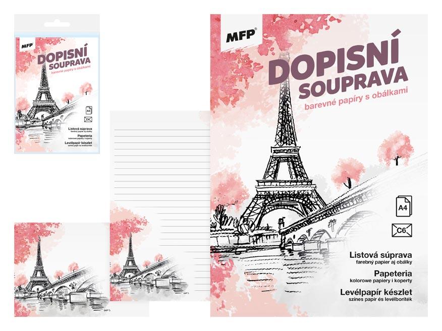 listový papier farebný LUX 5+10 (Paríž) 5550302