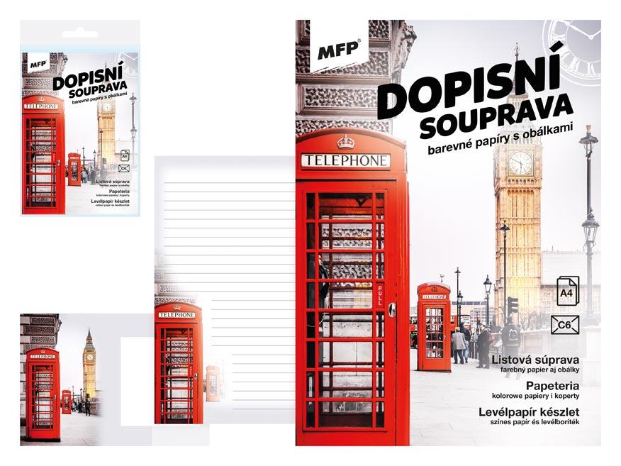 listový papier farebný LUX 5+10 (Londýn) 5550303