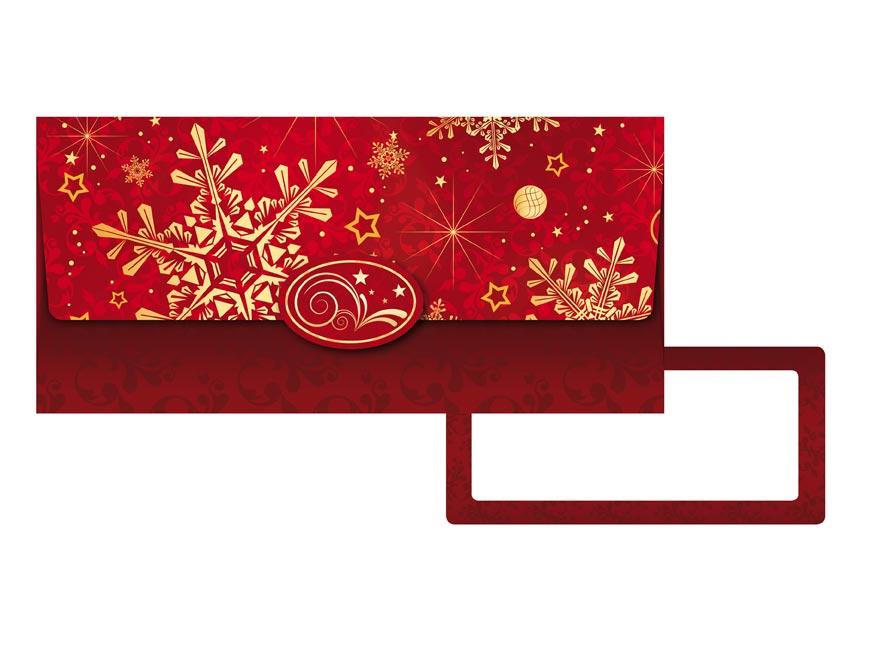 obálka na peniaze vianočná 88- 023 5560003