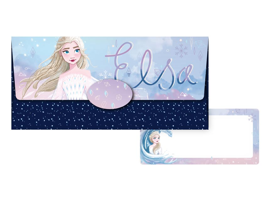 obálka na peniaze Disney 55- 068 (Frozen) 5560009