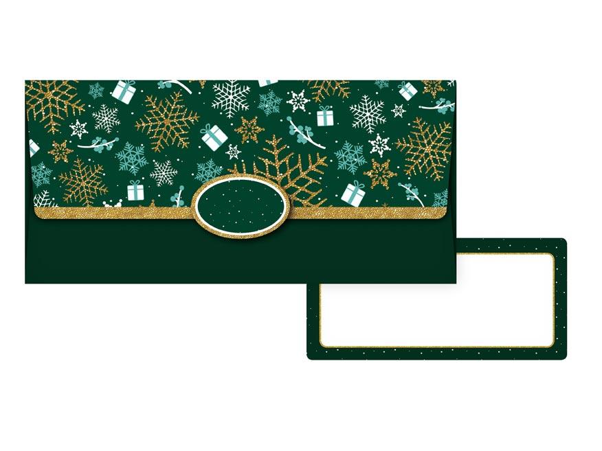 obálka na peniaze vianočná 88-030 5560032