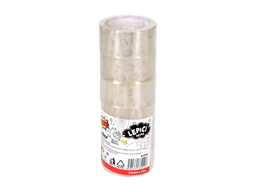 Lepiaca páska W834508 24mm x 30m priehľadná