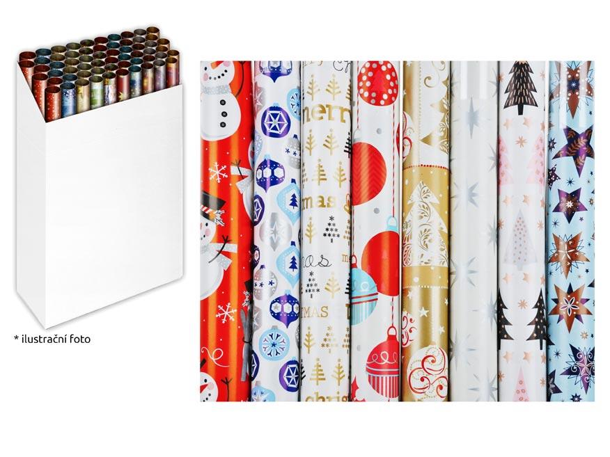 Baliaci papier vianočný rolky 200x70