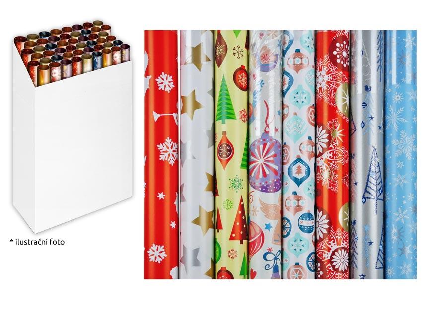 Baliaci papier vianočný rolky 1000x70