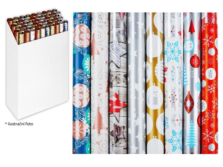 Baliaci papier vianočný rolky 500x70