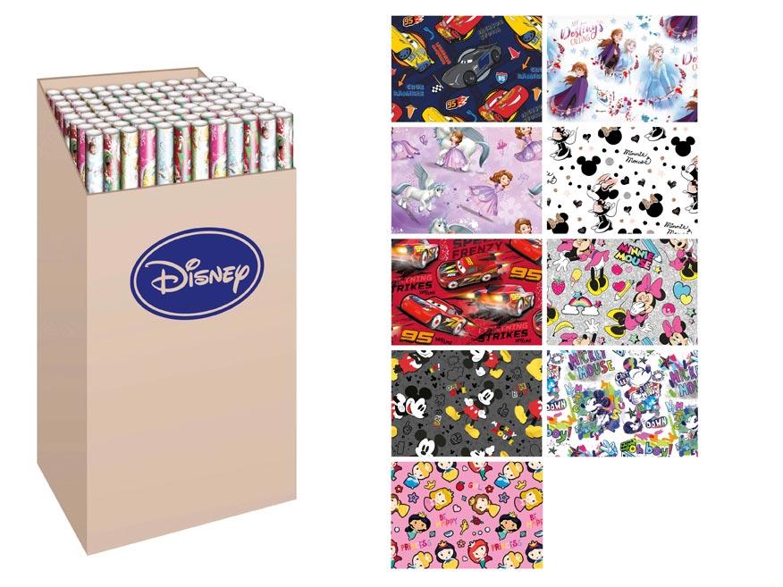 Baliaci papier rolky Disney 2x100x70 LUX MIX