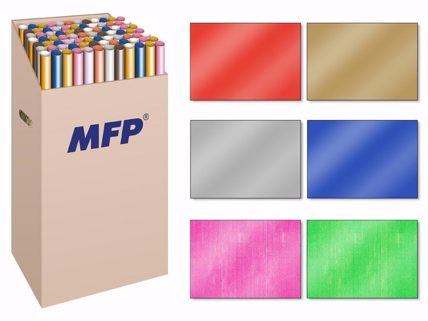 Baliaci papier rolky 200x70 jednofarebný