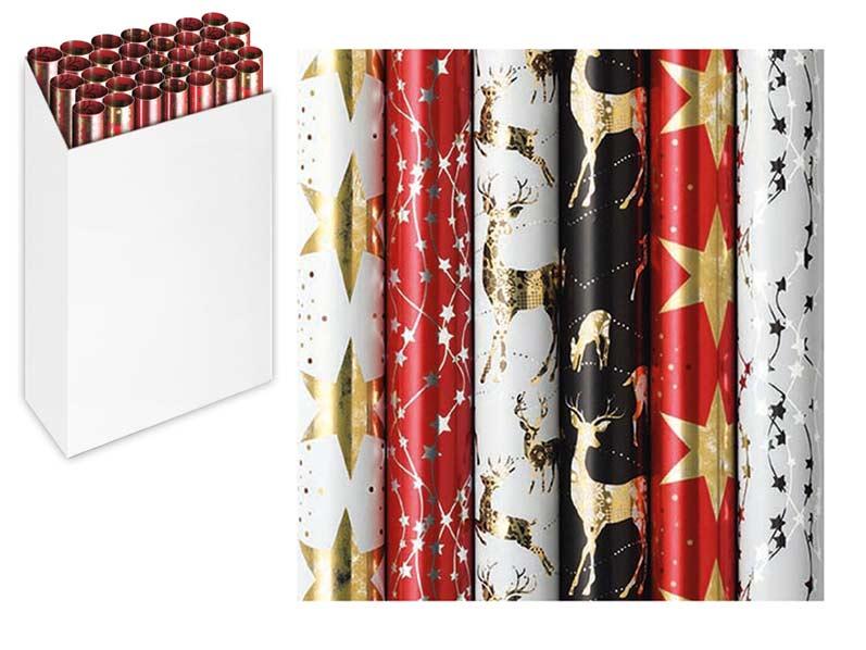 Baliaci papier vianočný rolky Platinum Simply Christmas 150x70