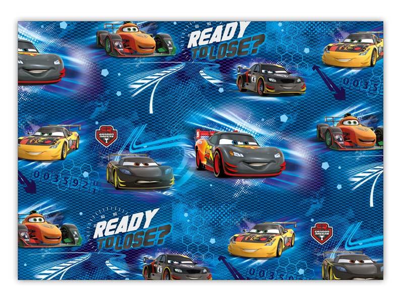Baliaci papier Disney Y021 (Cars) 100x70 LUX