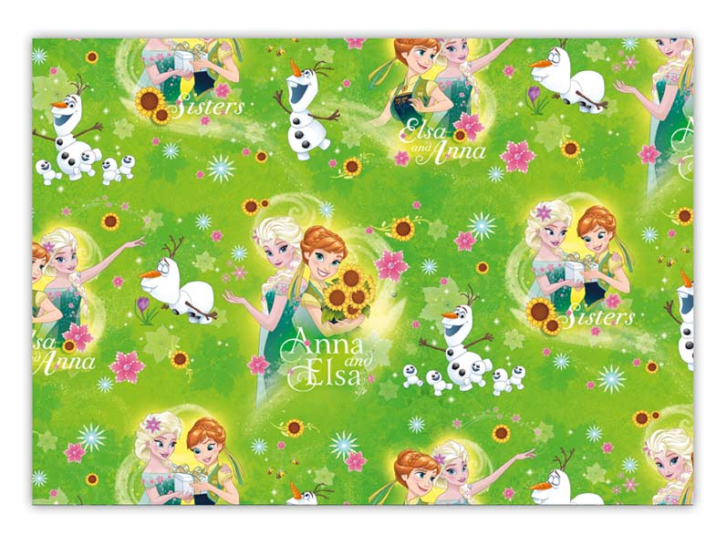 Baliaci papier Disney Y025 (Frozen) 100x70 LUX