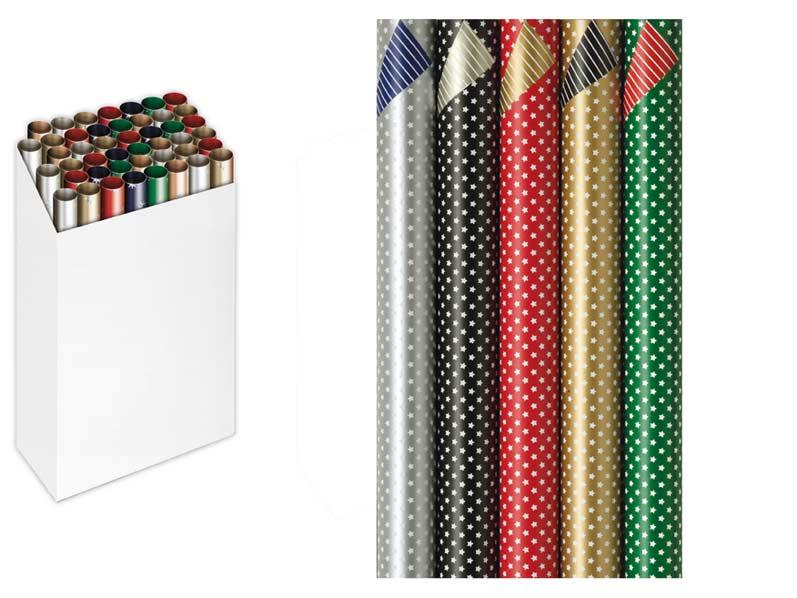 Baliaci papier vianočný rolky Premium Stardust 200x70