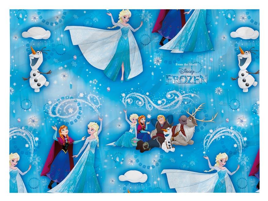 Baliaci papier Disney Y027 (Frozen) 100x70 LUX
