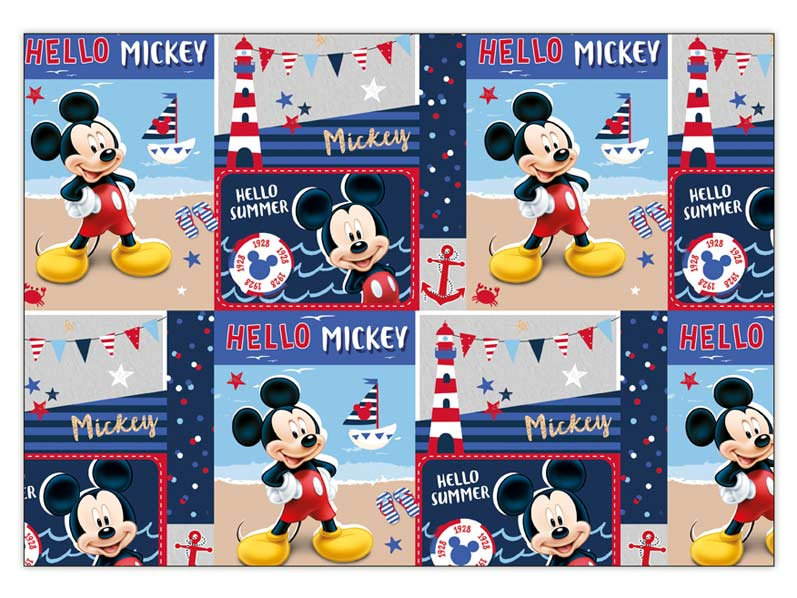 Baliaci papier Disney Y029 (Mickey) 100x70 LUX