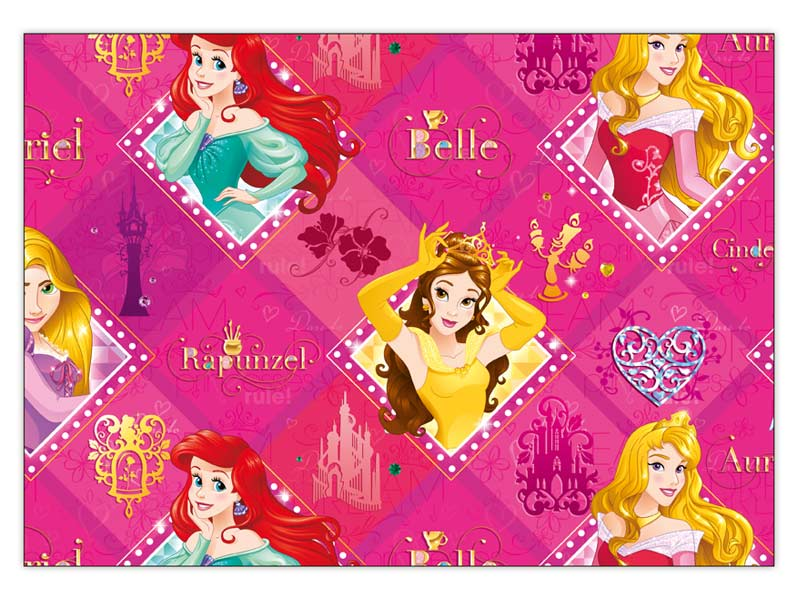 Baliaci papier Disney Y030 (Princess) 100x70 LUX