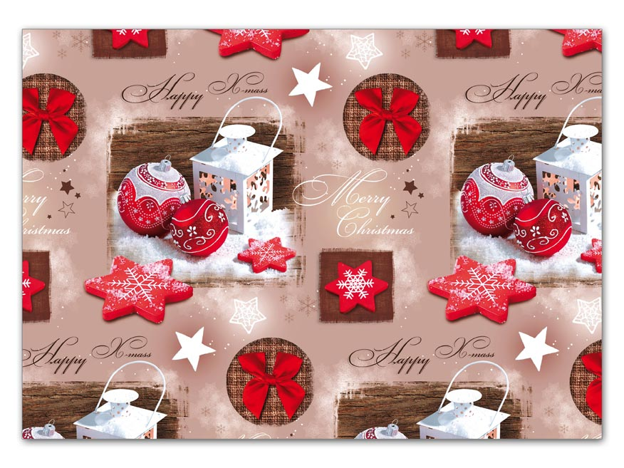 Baliaci papier vianočný klasik V179 100x70