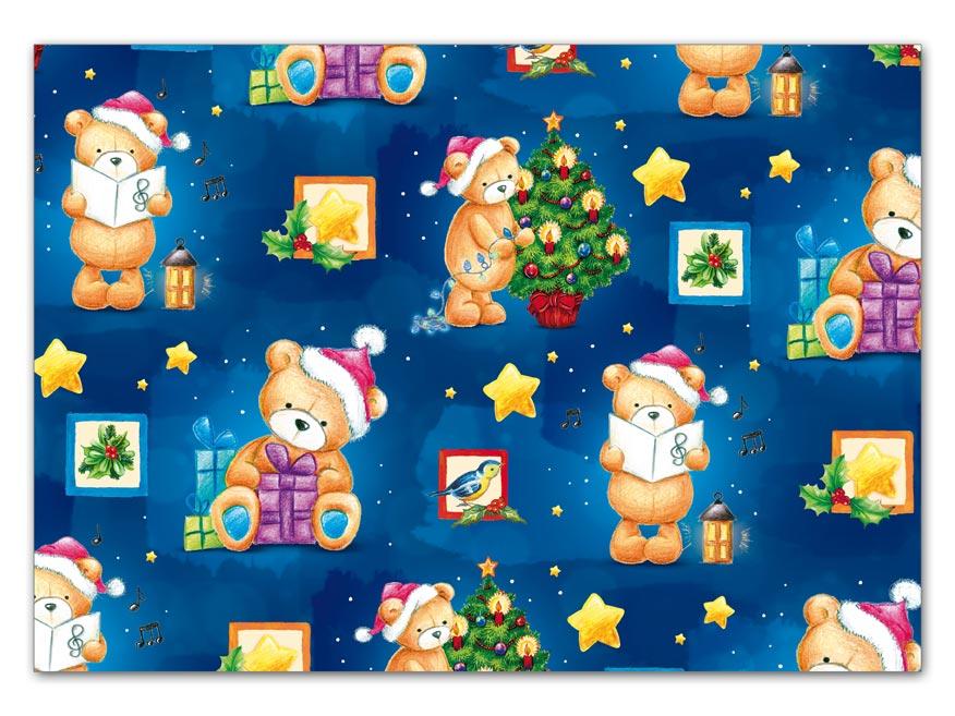 Baliaci papier vianočný klasik V181 100x70