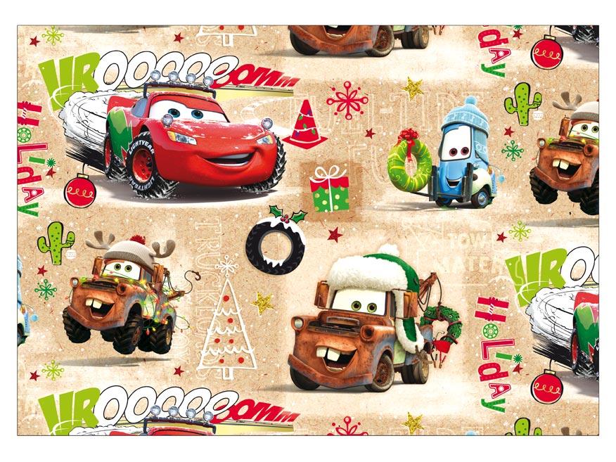 Baliaci papier vianočný LUX YV017 Disney (Cars)