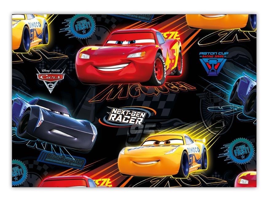 Baliaci papier Disney Y037 (Cars) 100x70 LUX