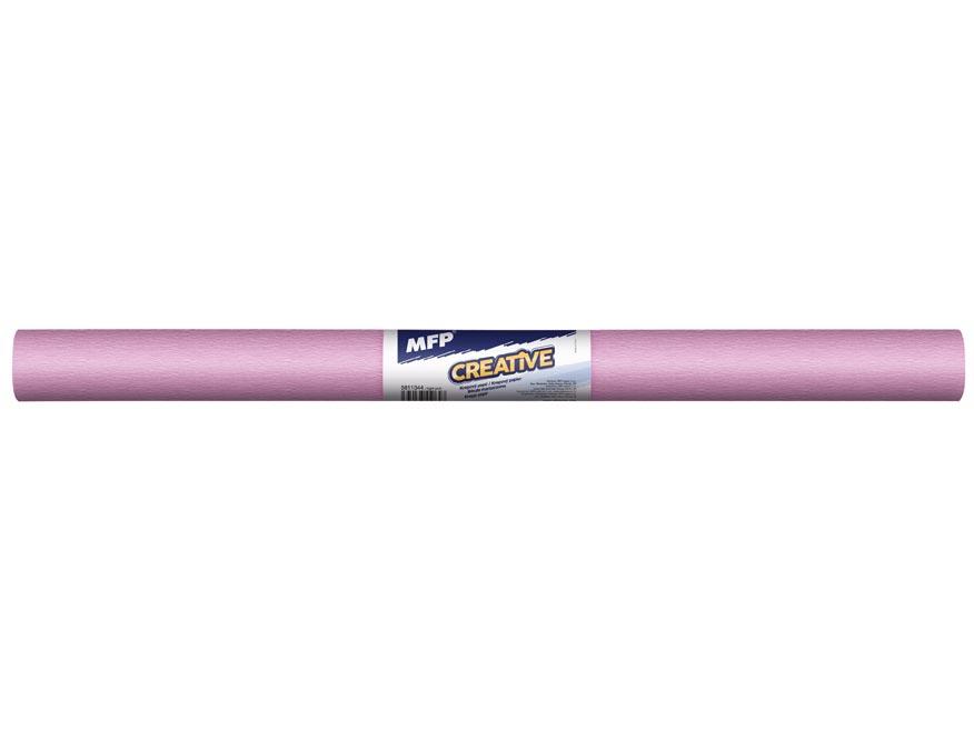 Krepový papier rolka 50x200cm ružový svetlý
